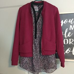 Maurices jacket and coordinating tunic